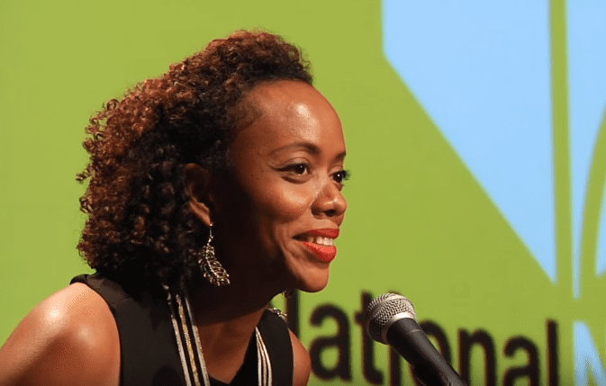 Angela Flournoy reads at the 2015 National Book Awards Finalists Reading