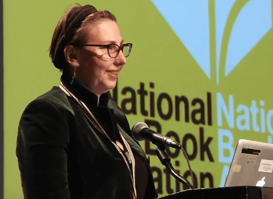 Carla Power reads at the 2015 National Book Awards Finalists Reading