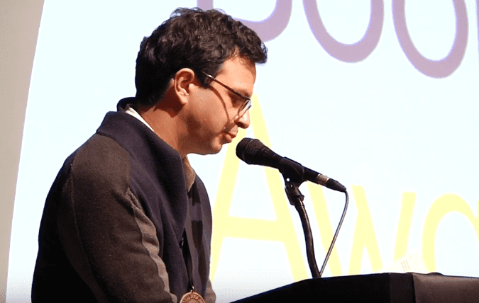 Daniel Borzutzky reads from The Performance of Becoming Human, 2016 NBAs Finalists Reading