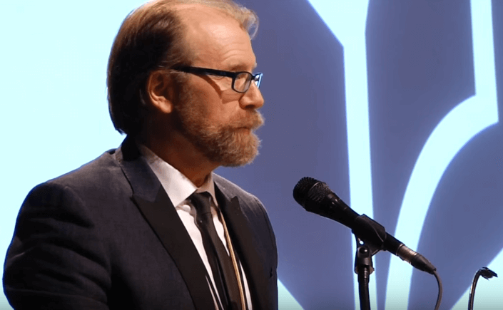 George Saunders reads from Tenth of December, 2013 NBA Finalists Reading