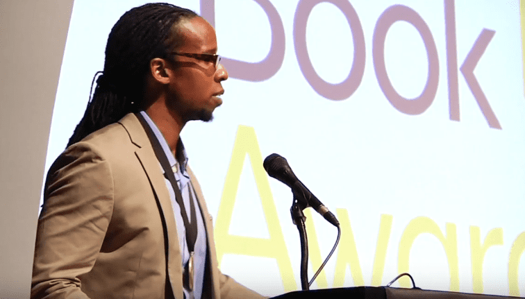 Ibram X. Kendi reads from Stamped from the Beginning, 2016 NBAs Finalists Reading