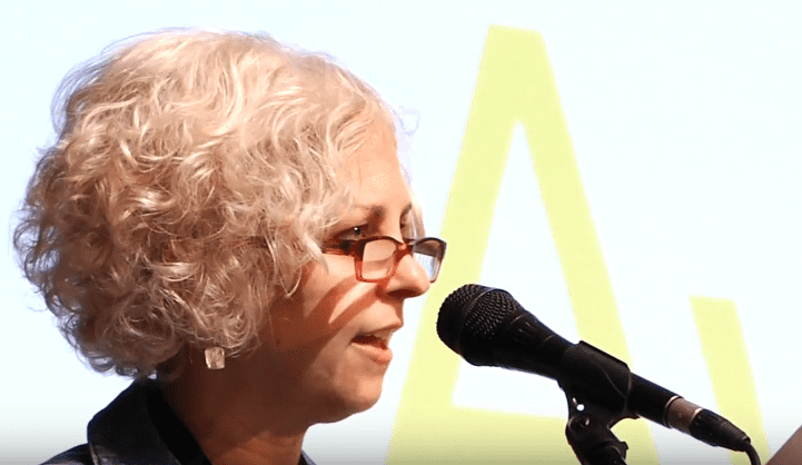 Kate DiCamillo reads from Raymie Nightingale at 2016 NBAs Finalists Reading