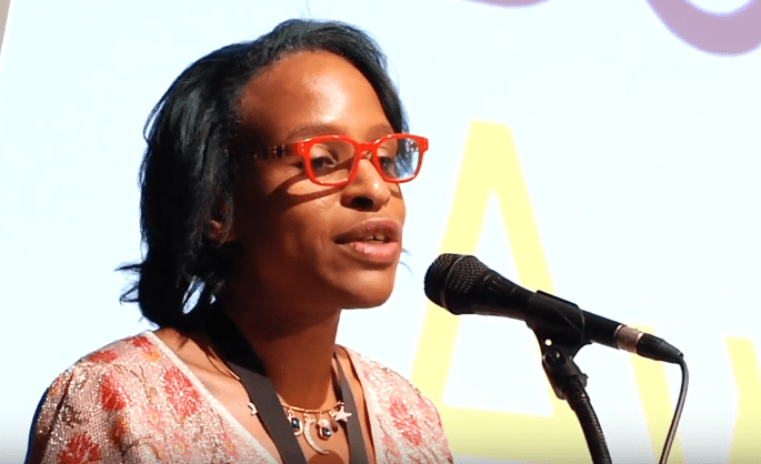 Nicola Yoon reads from The Sun Is Also a Star at the 2016 National Book Awards Finalists Reading