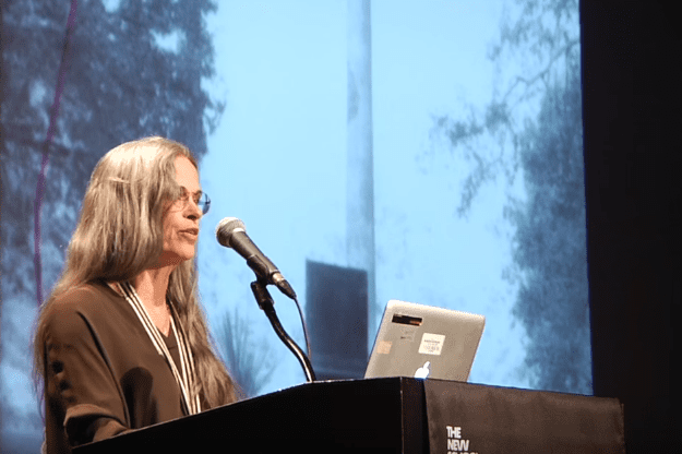 Sally Mann reads at the 2015 National Book Awards Finalists Reading