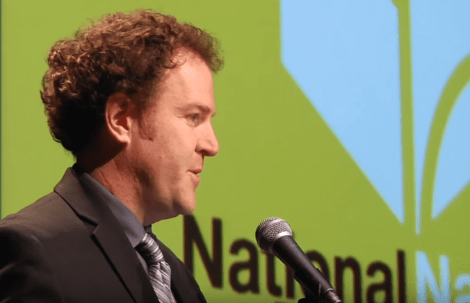Steve Sheinkin reads at the 2015 National Book Award Finalists Reading