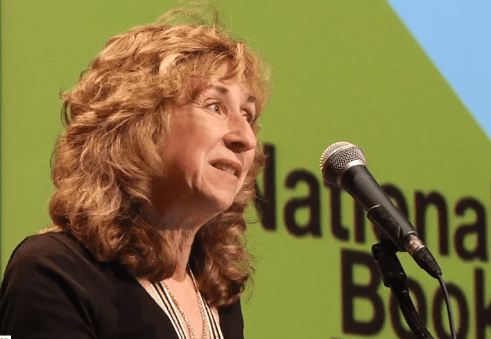 Sy Montgomery reads at the 2015 National Book Awards Finalists Reading