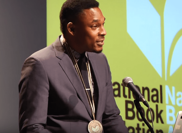 Terrance Hayes reads at the 2015 National Book Awards Finalists Reading