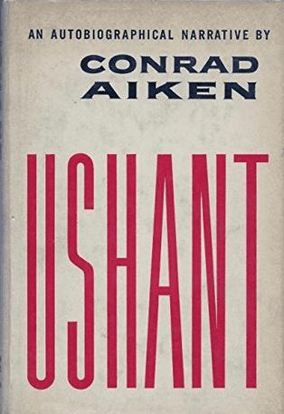 Conrad Aiken - Ushant book cover, 1953