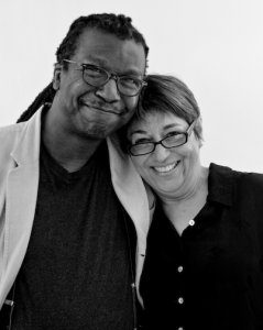 Cornelius Eady and Toi Derricote (Photo credit: Rachel Eliza Griffiths)