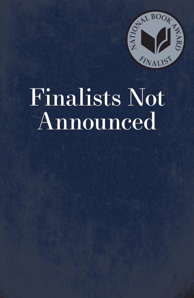Finalists Not Announced, book cover