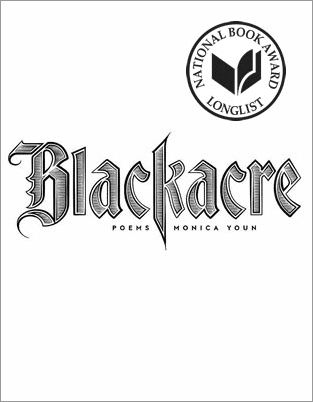 Blackacre by Monica Youn, book cover