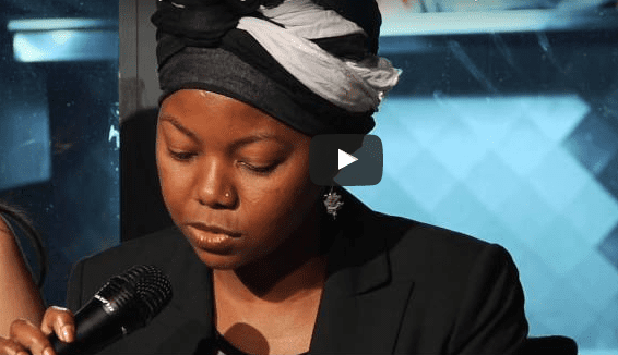 NoViolet Bulawayo reading at 2013 5Under35, Intro by Junot Diaz, read by Fiona Maazel
