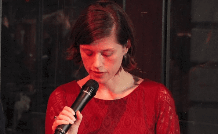 Jennifer duBois reading at the 2012 5 Under 35 Celebration