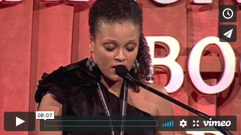 Jesmyn Ward's 2011 National Book Award in Fiction acceptance speech