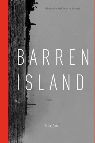 Barren Island by Carol Zoref book cover