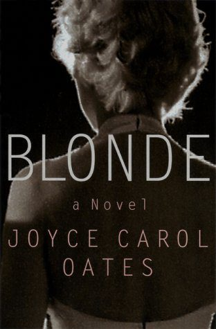 Blonde, by Joyce Carol Oates book cover