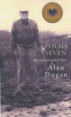 Poems Seven, by Alan Dugan book cover