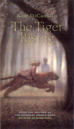 2001 Tiger Rising by Kate DiCamillo book cover