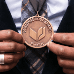 National Book Awards Finalists Medallion, photo credit: Beowulf Sheehan