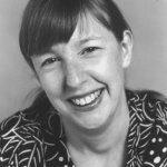 Julia Glass, author photo, 2002