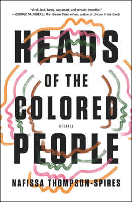 Heads of the Colored People by Nafissa Thompson-Spires book cover