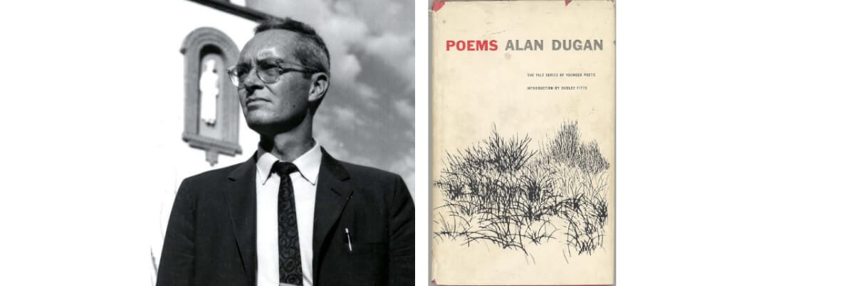 Alan Dugan accepts the 1962 National Book Award in Poetry for <em>Poems</em>