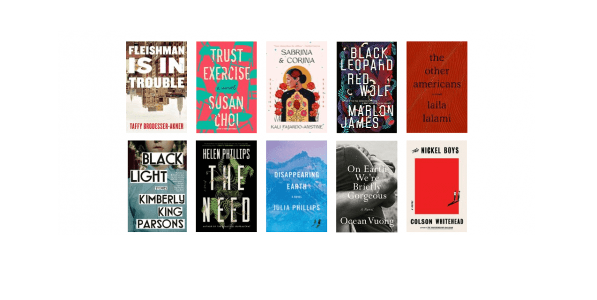 2019 National Book Awards Longlist for Fiction