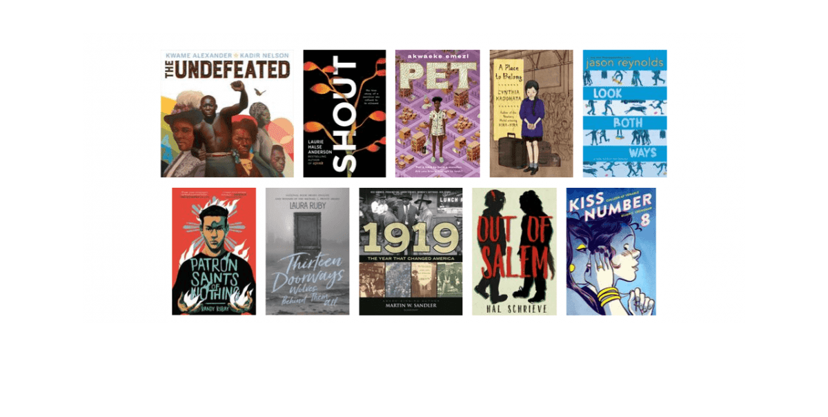 2019 National Book Awards Longlist for Young People's Literature