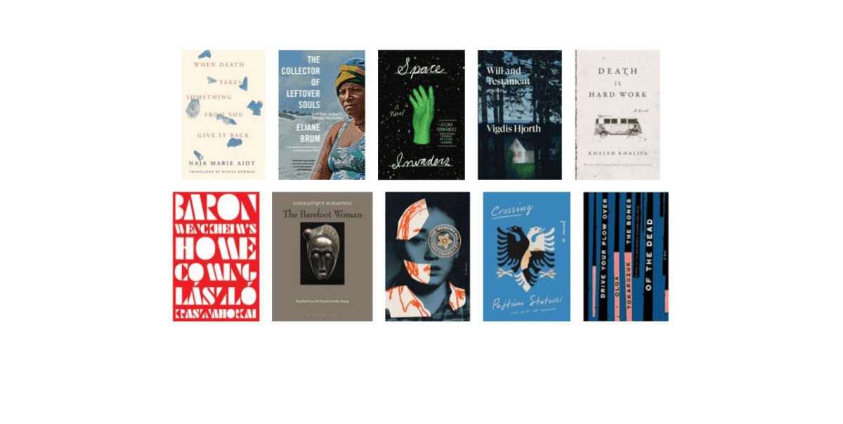 2019 National Book Awards Longlist for Translated Literature