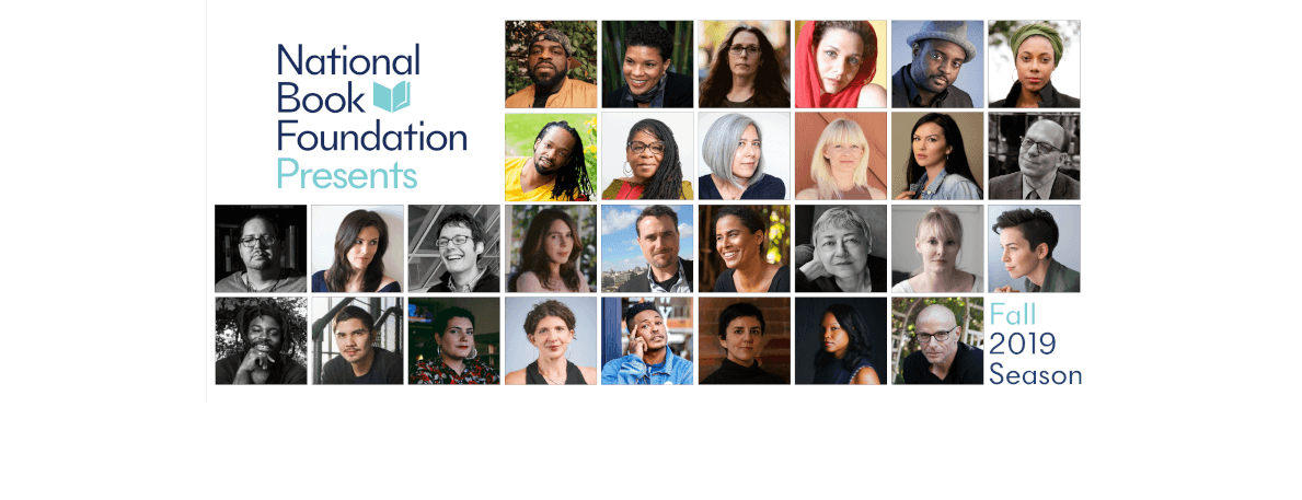 National Book Foundation Announces Fall Season of NBF Presents