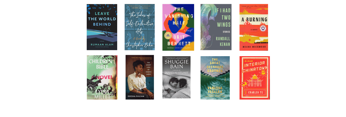 2020 National Book Awards Longlist for Fiction