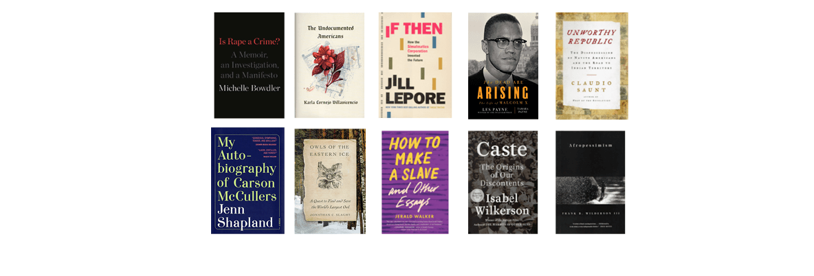 2020 National Book Awards Longlist for Nonfiction