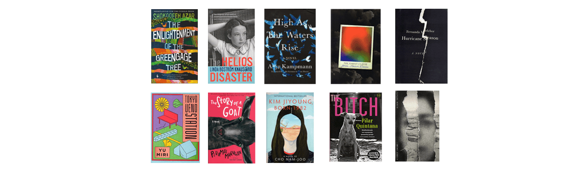 2020 National Book Awards Longlist for Translated Literature