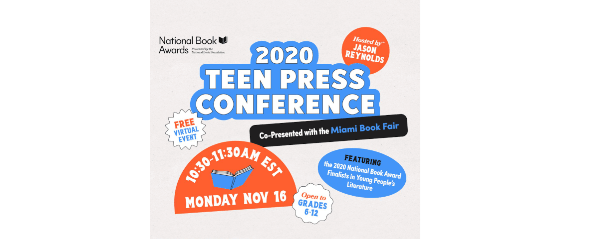 Watch the 2020 National Book Awards Teen Press Conference