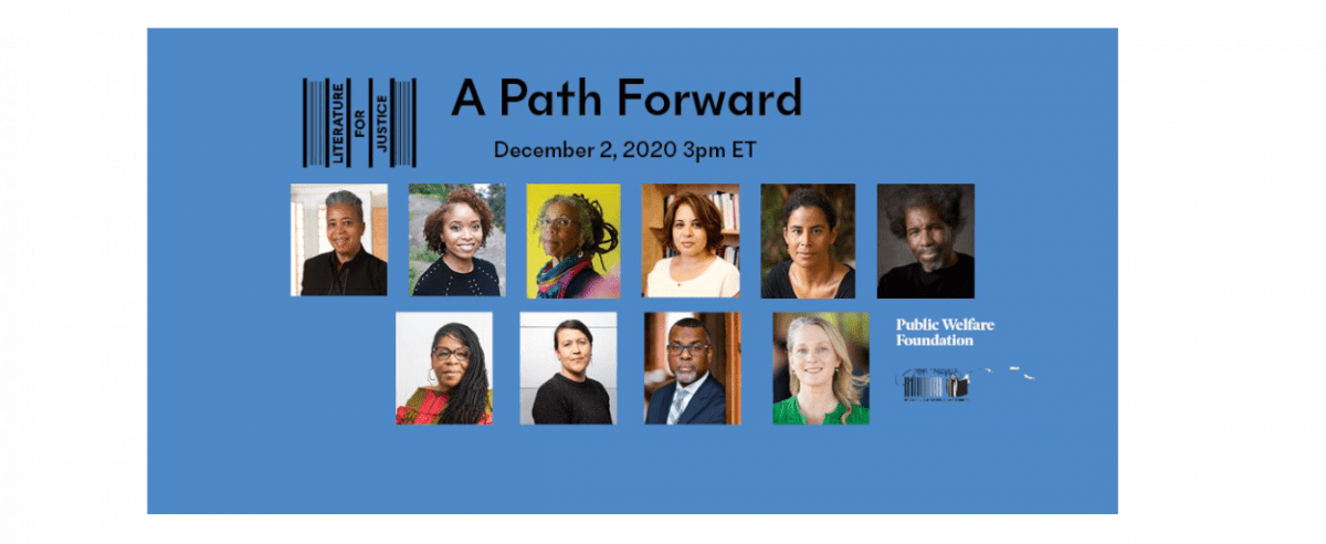 Tune in – Literature for Justice: A Path Forward