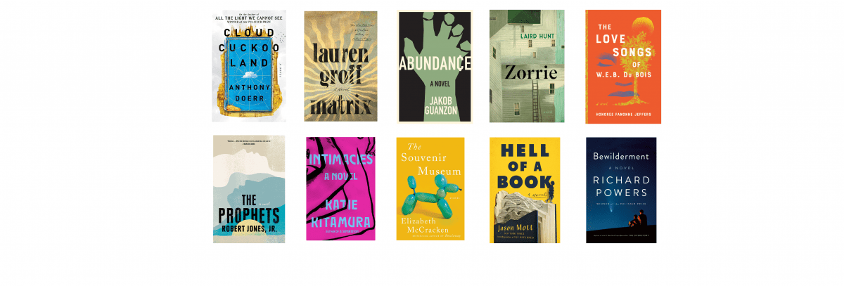 2021 National Book Awards Longlist for Fiction