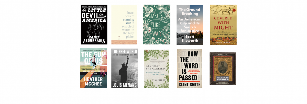 2021 National Book Awards Longlist for Nonfiction