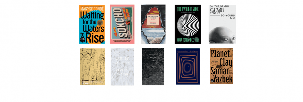2021 National Book Awards Longlist for Translated Literature
